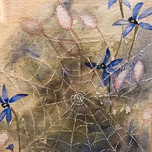 Airport Art - Fay Davidson - Cobweb In The Bush