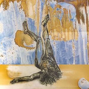 Airport Art - Ginny Grant - Golden Gabrielle