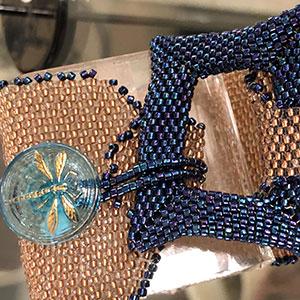 Airport Art - Joyleen Cowin - Fungi Motif Bracelet
