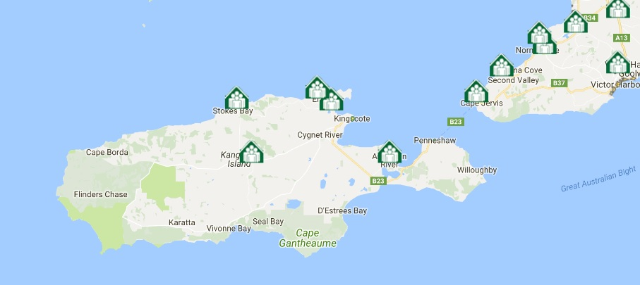 KI Map - Bushfire Safer Places 2017