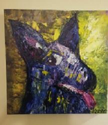 Robyn Molsher Blue Dog