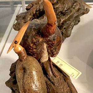 Airport Art - Coral Duncan - Hakea Bird Sculpture I & II