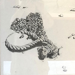 Airport Art - Merril Hansen - Beach Combing